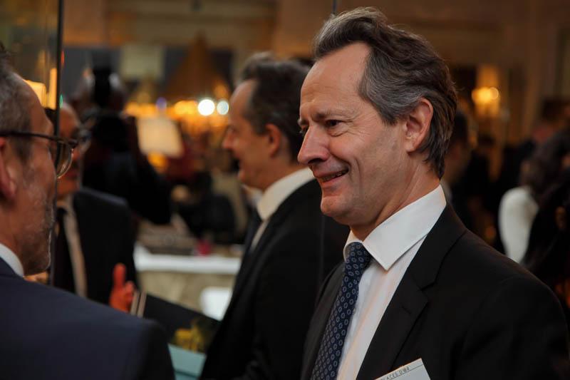 Franck Marilly, Président de Shiseido EMEA, préside la 15e édition du salon Les Places d'Or