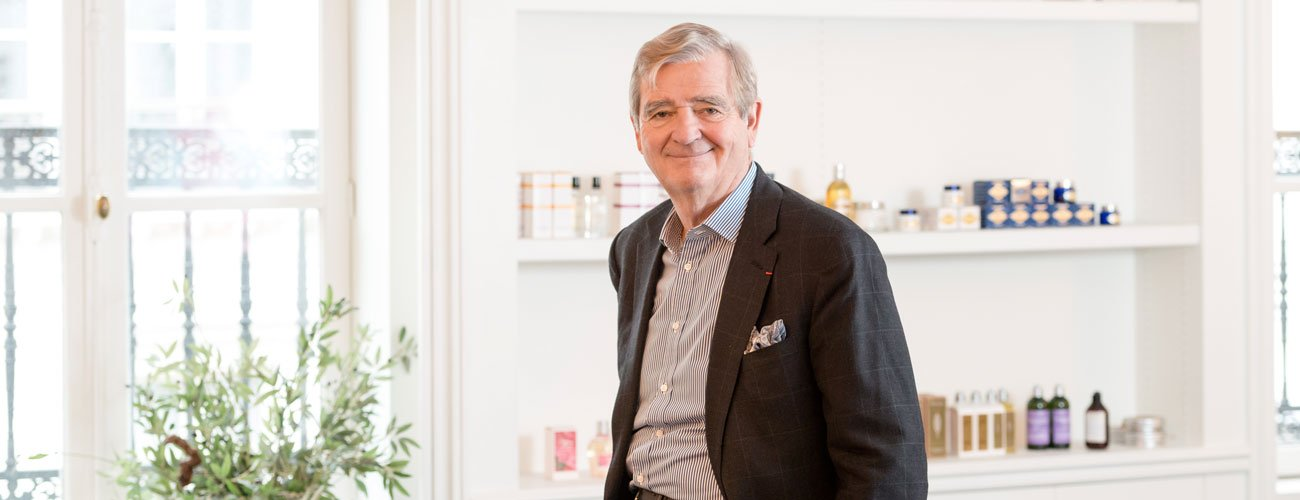 Editorial by Reinold Geiger, Chairman and Chief Executive Officer of the L'OCCITANE Group