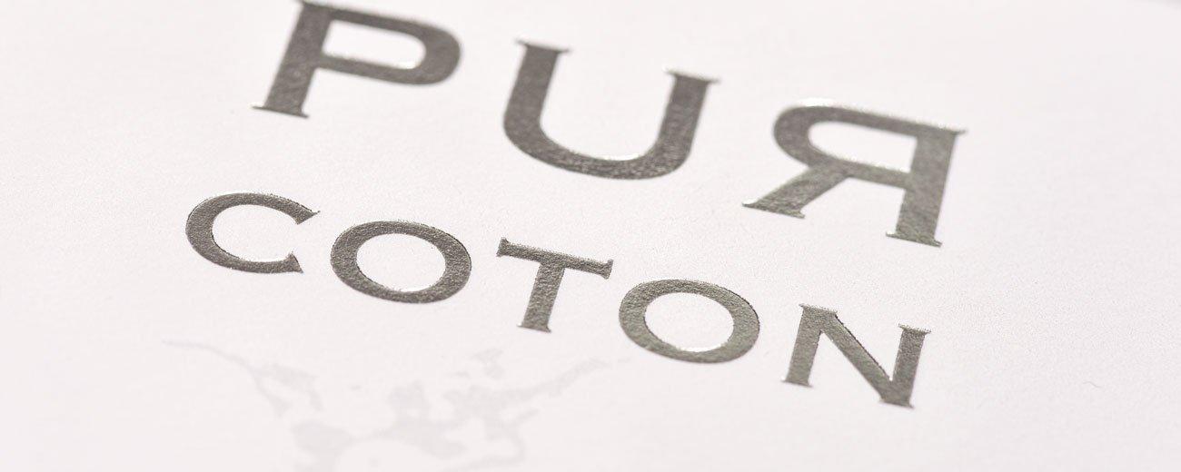 La Papeterie Zuber Rieder choisit Créanog pour sublimer sa carte de vœux 2021 'PUR COTON'