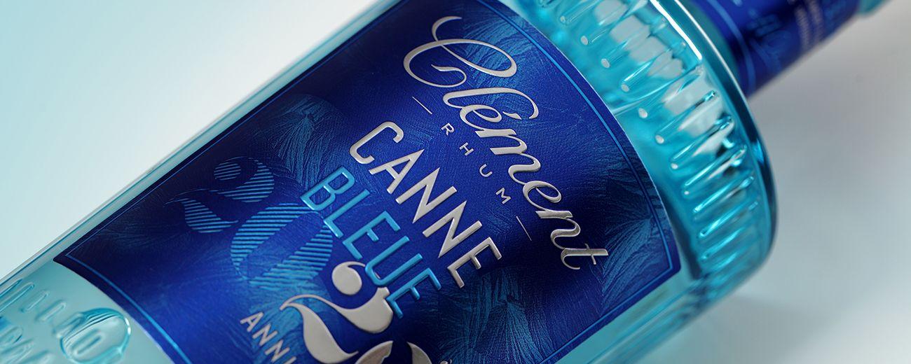 La Maison LINEA crée la double édition anniversaire Rhum Clément, Canne Bleue 2020
